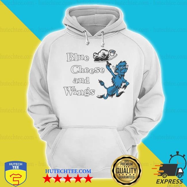 Buffalo vol 6 24 blue cheese and wings hoodie
