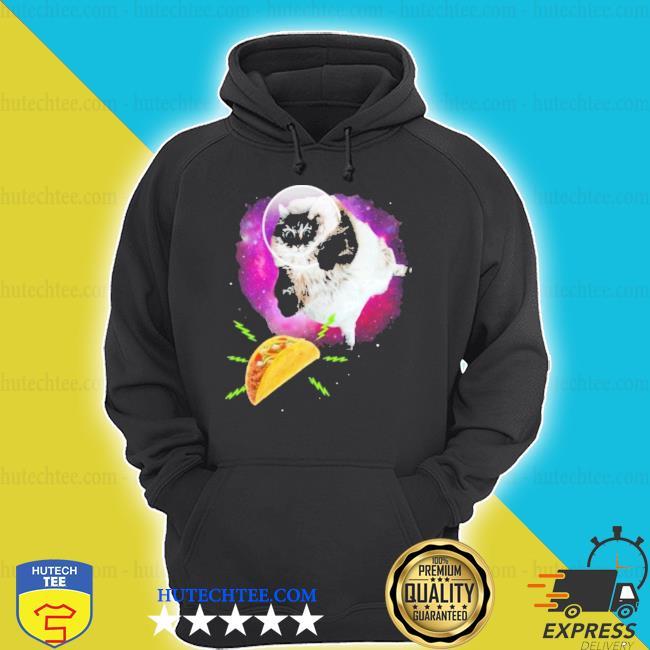 Cat taco astronaut hoodie