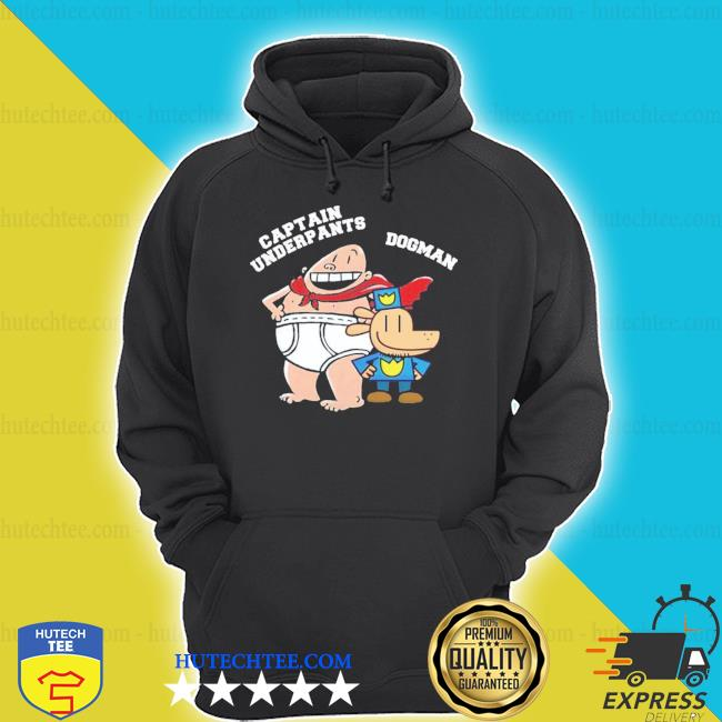 Dogman and captain underpants hoodie