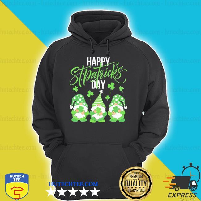 Gnomes hug Irish happy St Patrick's day hoodie