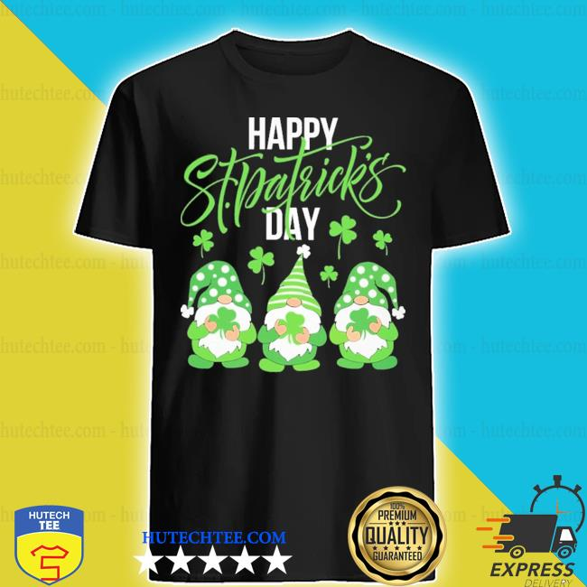 Gnomes hug Irish happy St Patrick's day shirt