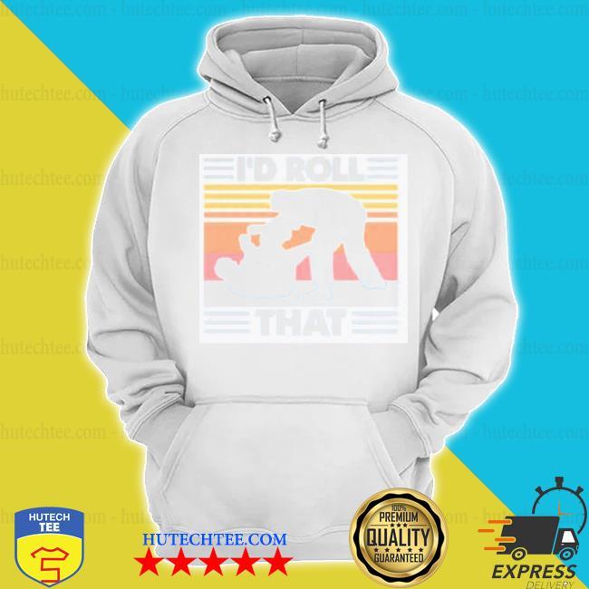 I'd roll that vintage retro hoodie