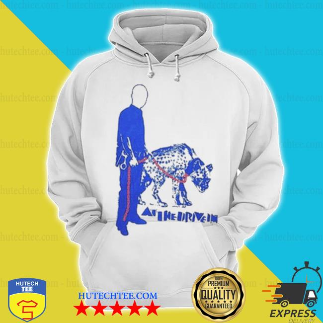 Night shift merch at the drive in hyena hoodie