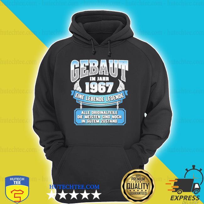 54 geburtstag geschenk lustig gebaut I'm jahr 1967 langarm new 2021 shirt