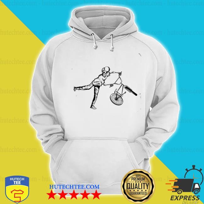 Bmx stunt skelett dirt bike freestyle fahrer geschenk new 2021 s hoodie
