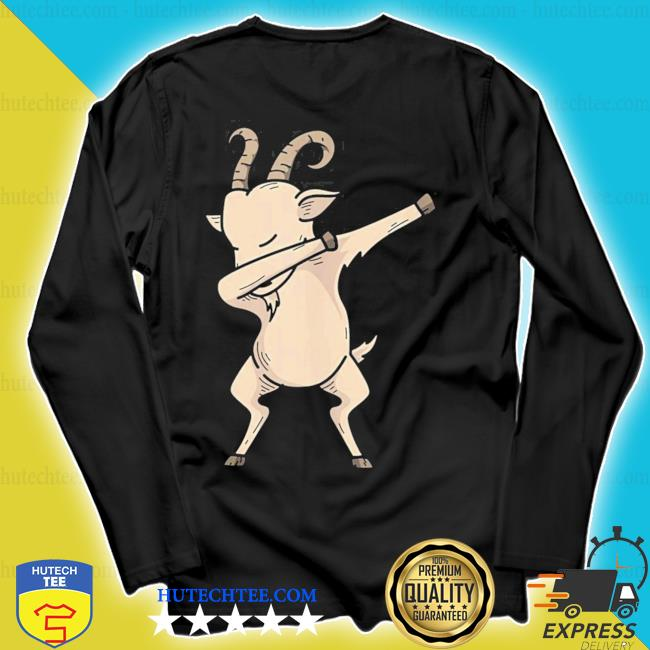 Cool dabbing goat hip hop dancing animal pun new 2021 s longsleeve