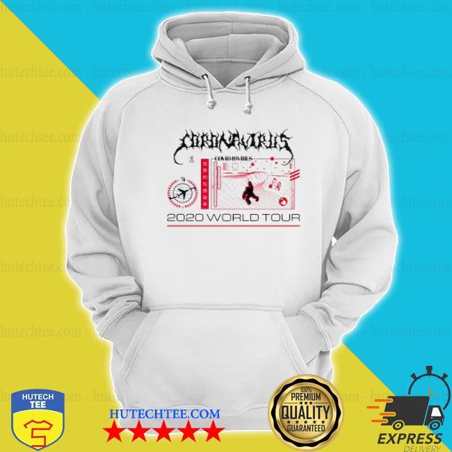 Coronavirus covid 19 virus 2020 world tour s hoodie