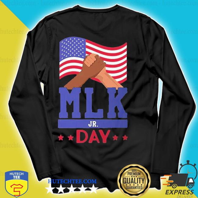 Cute martin luther king jr day mlk fist freedom s longsleeve