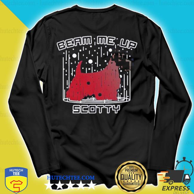 Dog beam me up scotty christmas s longsleeve