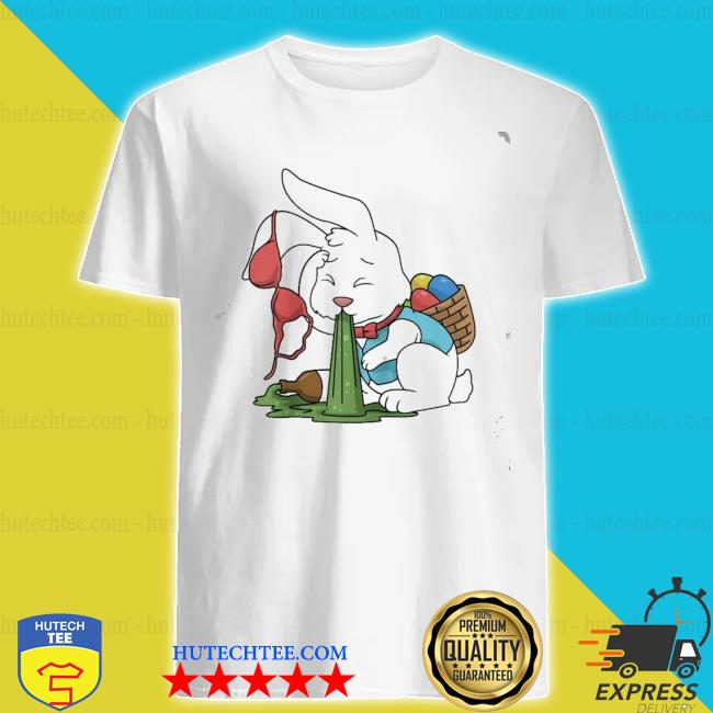 Funny easter happy easter bunny drinking easter new 2021 shirt
