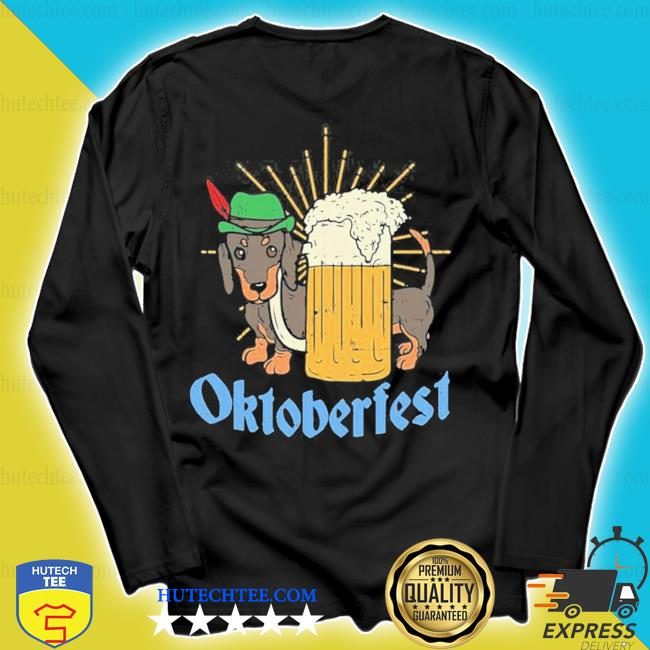 Funny Oktoberfest German Dachshund Dog Drinking Beer new 2021 Shirt longsleeve