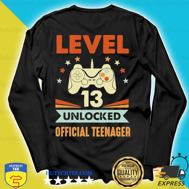 Level 13 unlocked nager s longsleeve