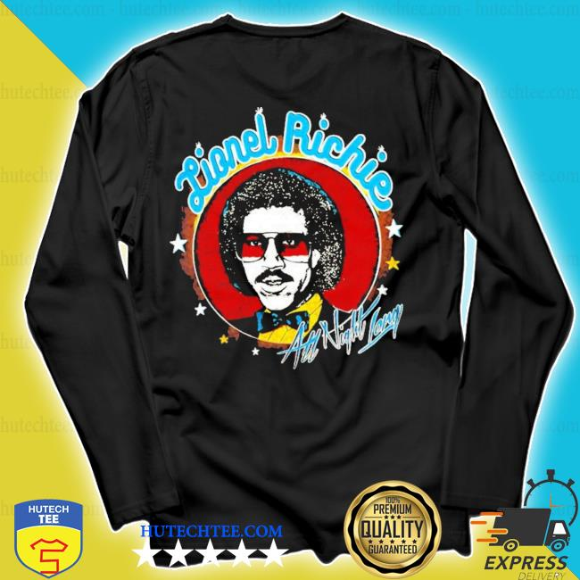 Lionel richie all night new 2021 s longsleeve