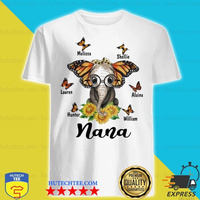 Melissa shellie lauren alaina hunter william nana new 2021 shirt