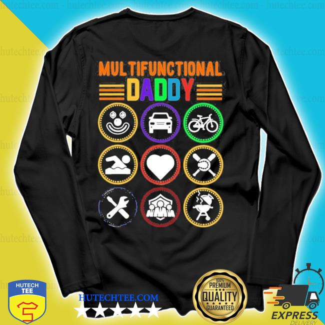 Mens multifunctional daddy dad fathers day 2021 s longsleeve