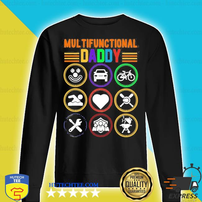 Mens multifunctional daddy dad fathers day 2021 s sweater
