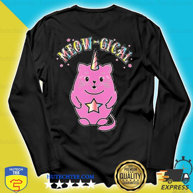 Meowgical caticorn magical cute cat unicorn new 2021 s longsleeve