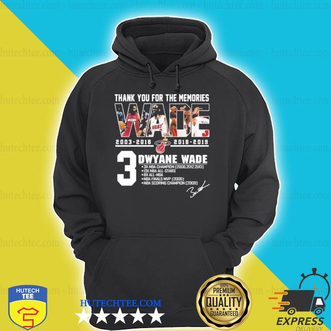 MiamI dwyane wade thank you for the memories new 2021 shirt