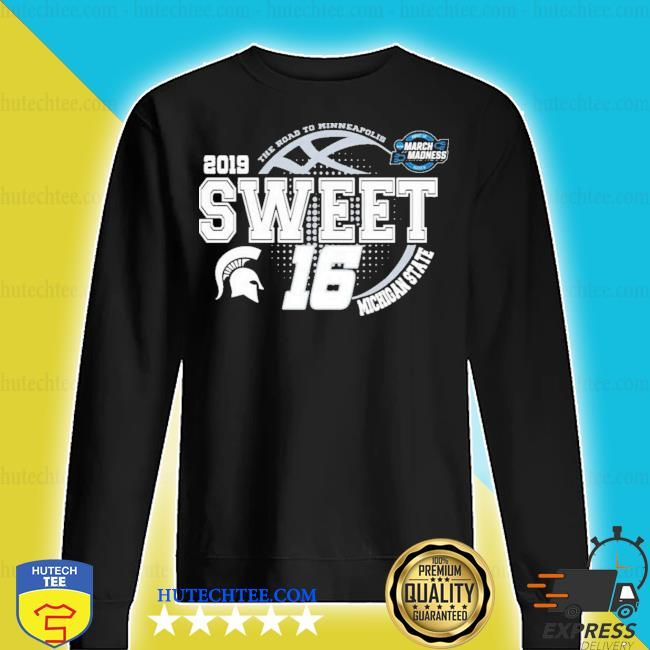 Michigan state spartans green 2019 ncaa sweet 16 new 2021 s sweater