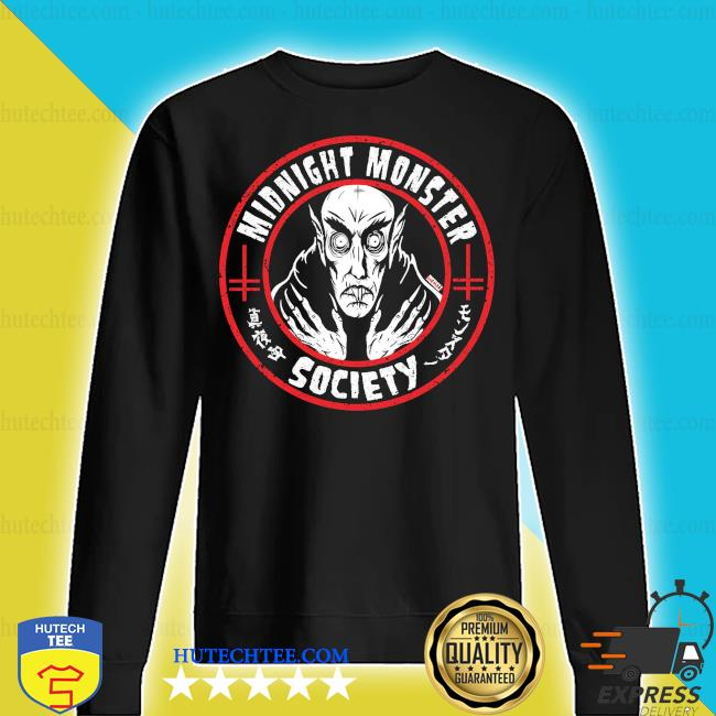 Midnight monster society s sweater