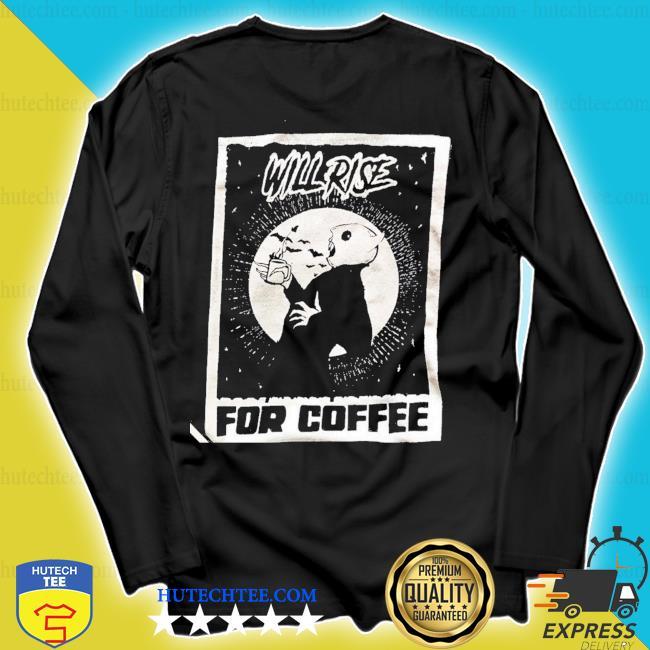 official Nosferatu Coffee Lover Shirt longsleeve