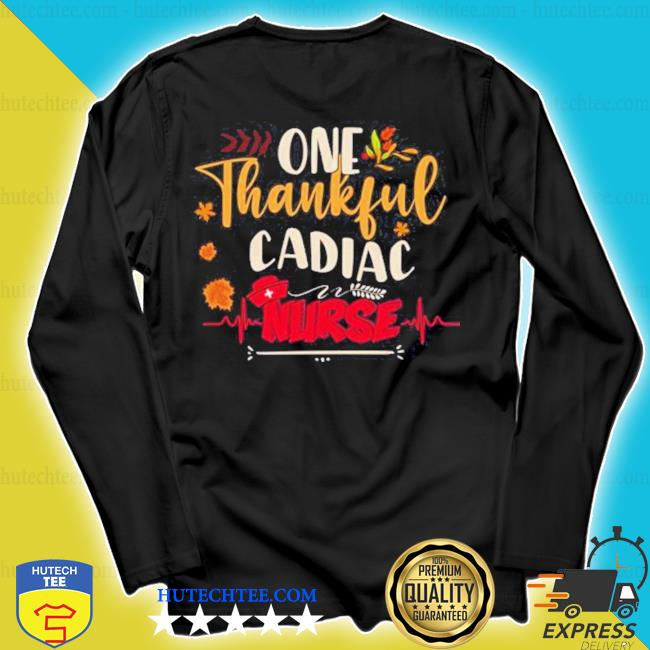 One thankful cadiac nurse s longsleeve