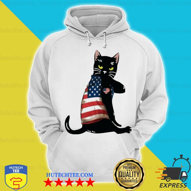 Strong cat patriotic s hoodie