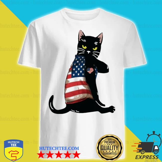 Strong cat patriotic shirt