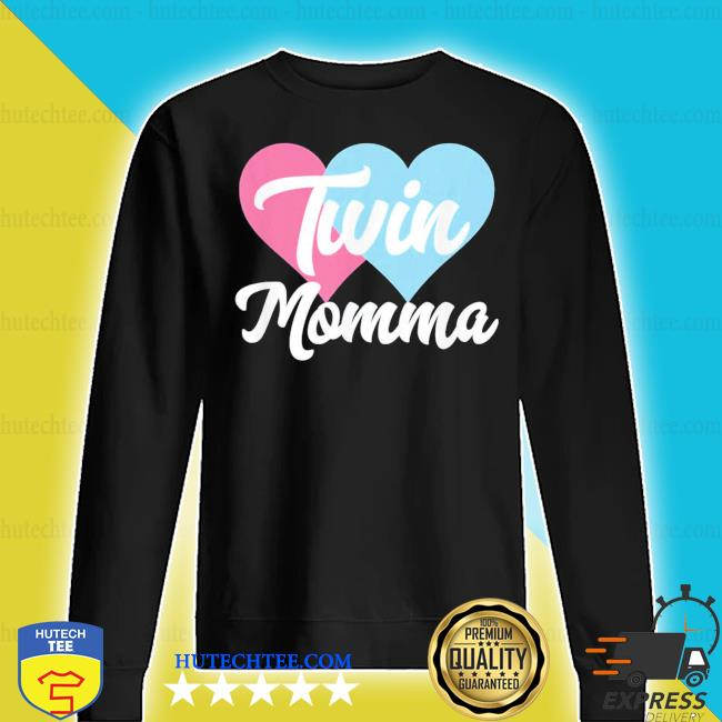Twin Momma – Mothers Day Fraternal Twins Mom new 2021 s sweater