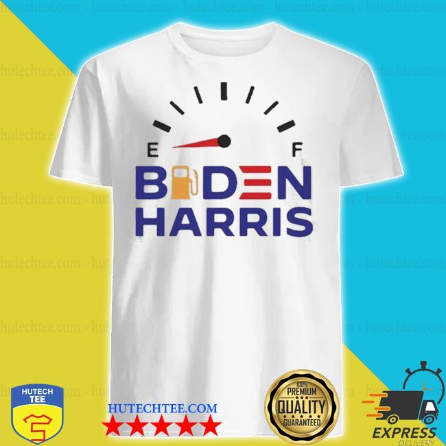 Biden Harris racing gas shortage shirt