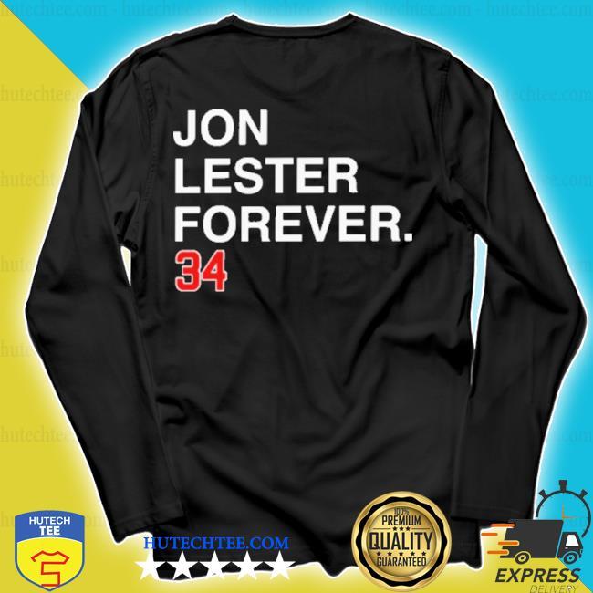 Jon lester forever 34 new 2021 s longsleeve