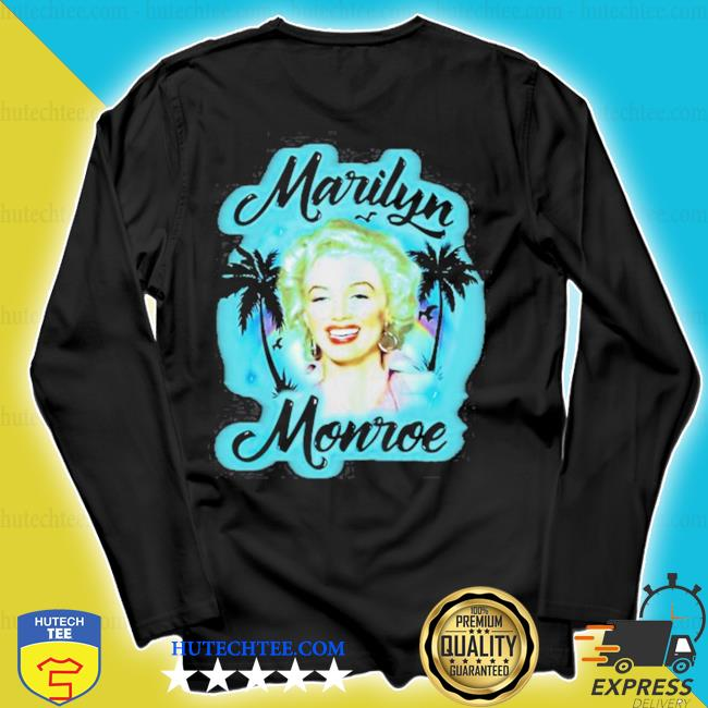 Marilyn monroe gift marilyn monroe airbrush s longsleeve