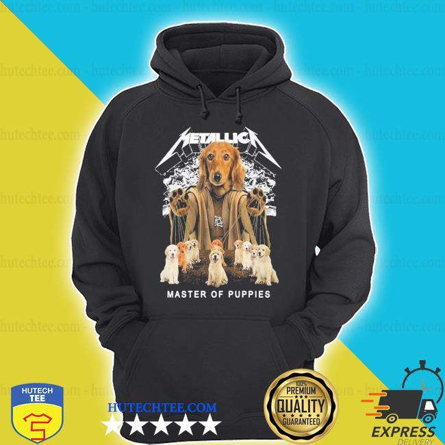 Metallic a dog metallica master of puppies 2021 shirt