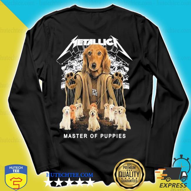 Metallic a dog metallica master of puppies 2021 s longsleeve