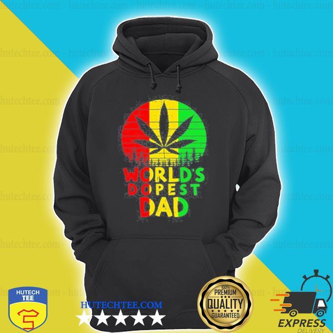 Weed worlds dopest dad vintage shirt