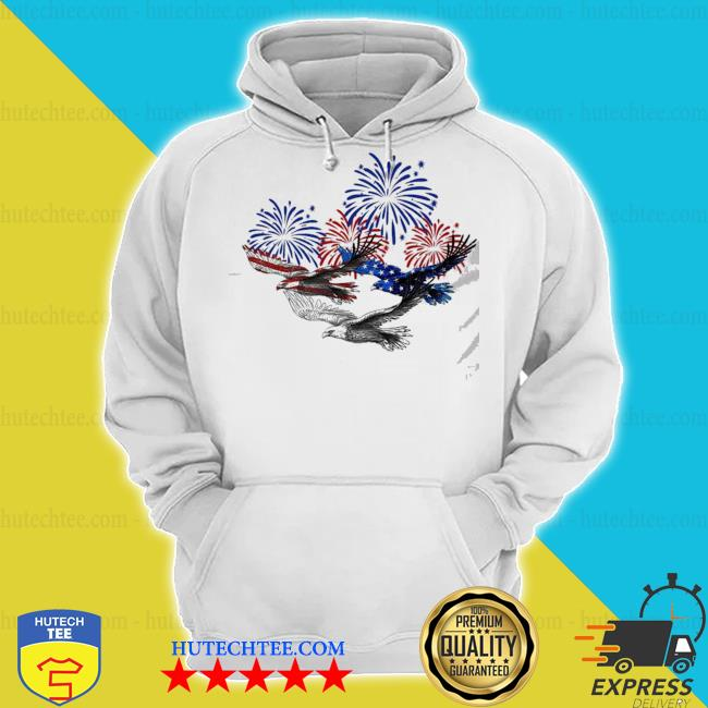 Eagle heart 4th of july s hoodie