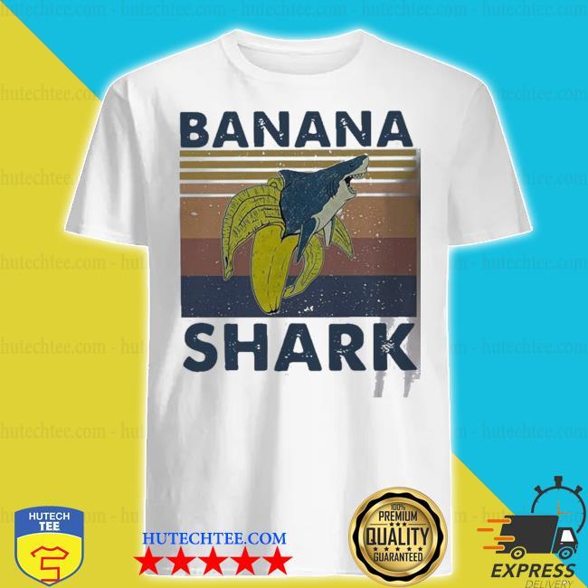 Banana shark vintage shirt