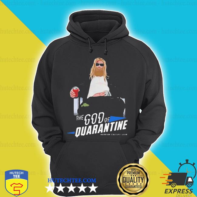 Hot fat Thor god of beer quarantined s hoodie