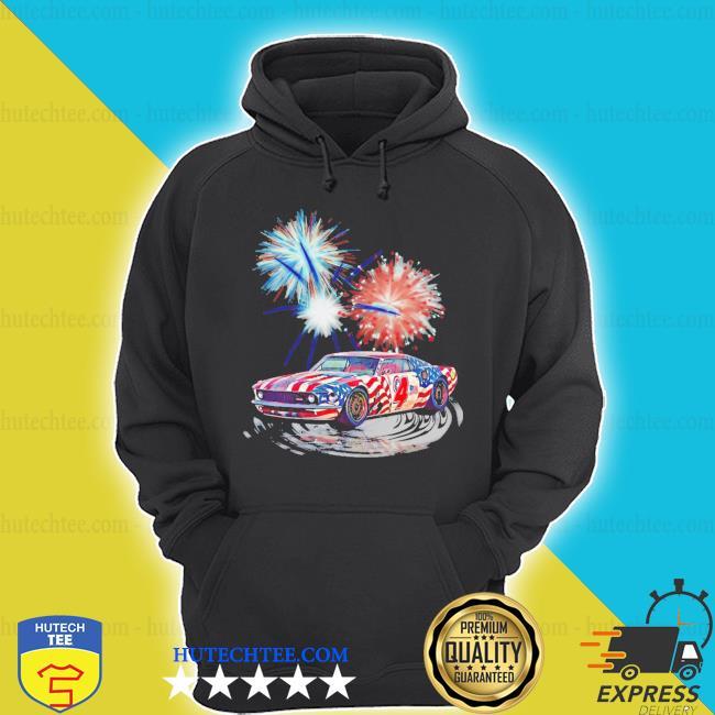 Muscle car happy 4th of july s hoodie