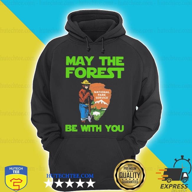Nice farmer bear may the forest be with you s hoodie