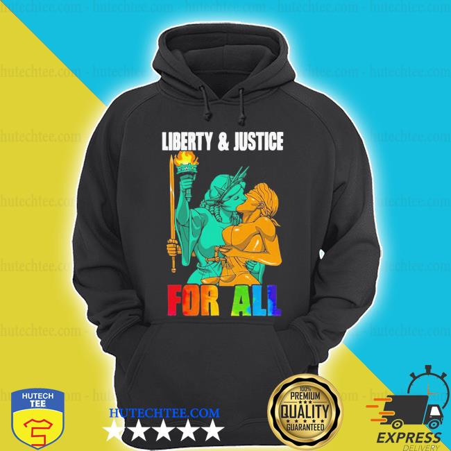 Nice LGBT liberty justice statue for all s hoodie