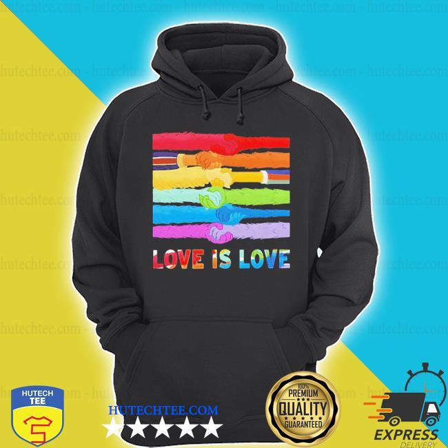 Nice LGBT love is love s hoodie