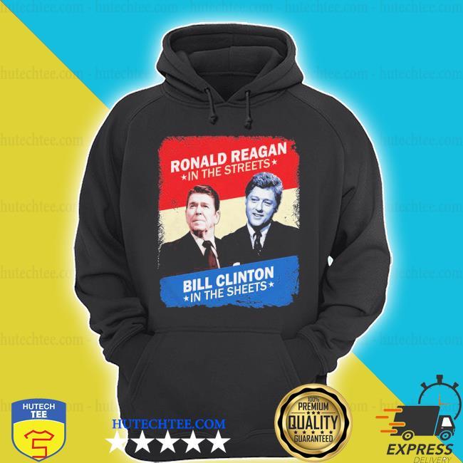 Top ronald reagan bill clinton s hoodie