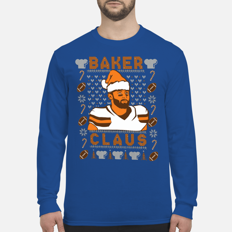 Baker Claus Nike Shirt long sleeved