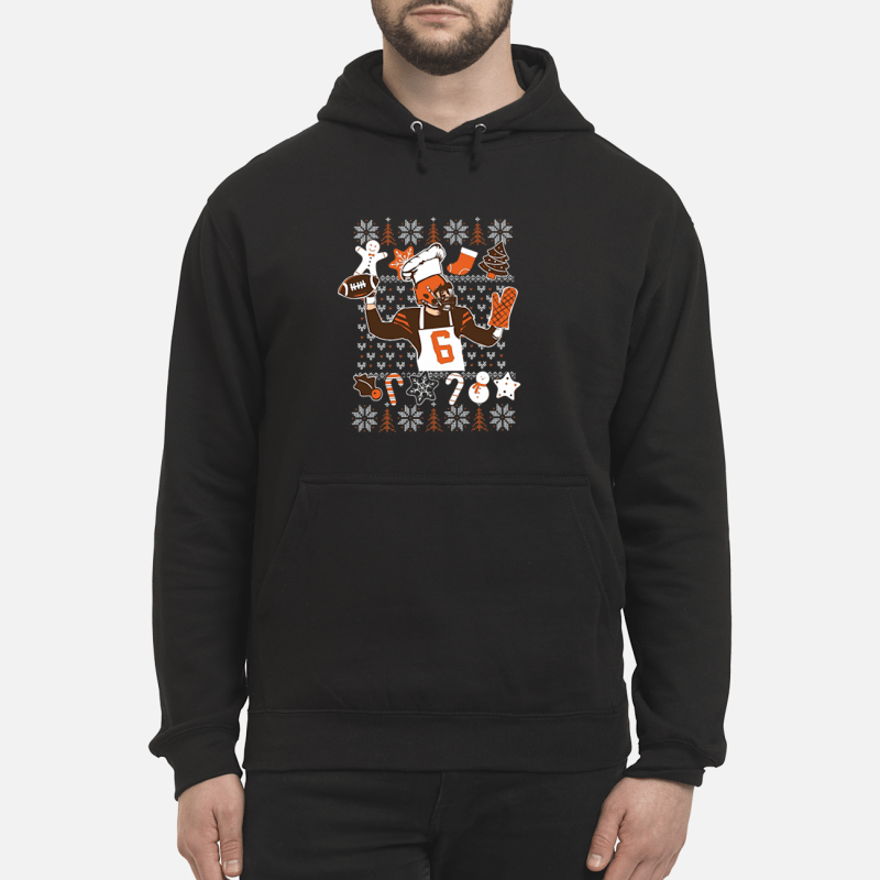 Baker Mayfield ugly Christmas shirt unisex hoodie