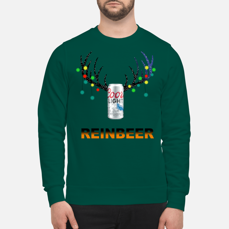Christmas ReinBeer Coors Light sweartshirt