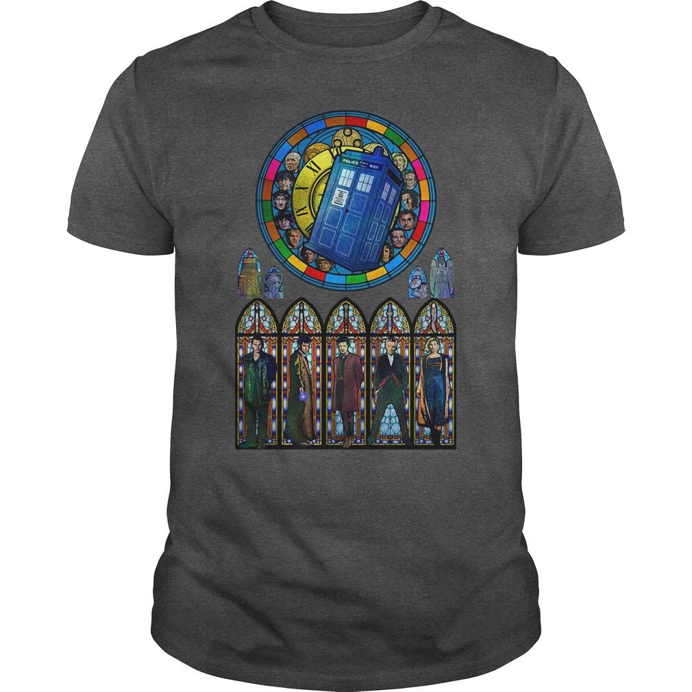 Doctor Who all 2020 president darkgrey shirt
