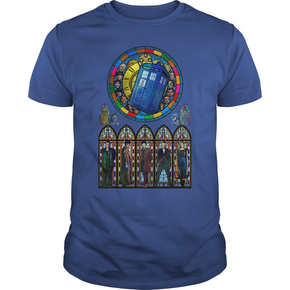 Doctor Who all 2020 president royalblue shirt