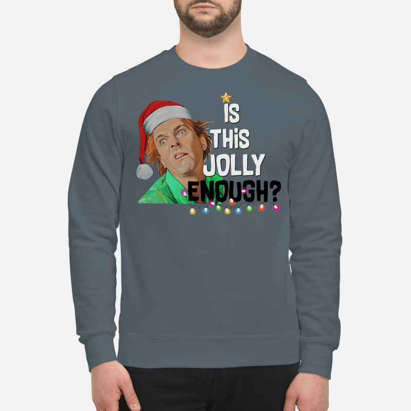 Drop Dead Fred elf is this jolly enough sweartshirt