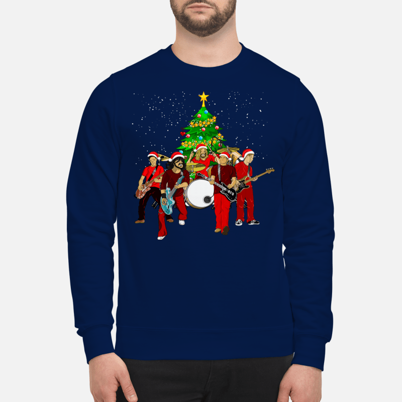 Foo Fighters Christmas tree sweater sweartshirt